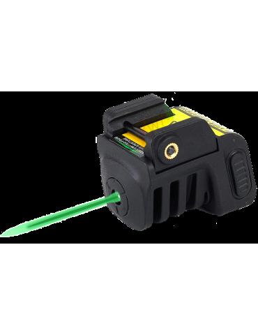 Pistol Green Laser USB Recargable